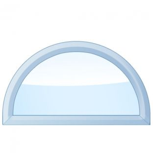 Half Circle / Arch Picture Storm Window